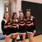 7th-Grade cheerleaders
