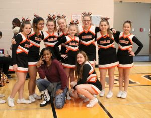 Cheerleaders - Middle School