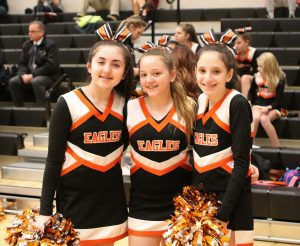 Cheerleaders – Middle School