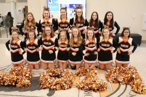 7th & 8th grade North Olmsted Cheerleaders