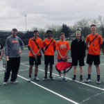 Boys Tennis Open Courts – Sept 30 & Oct 1