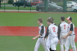 Varsity Baseball vs Amherst – League Park