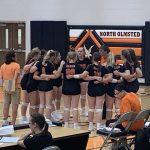 Girls Varsity Volleyball beats Midview 3 – 2