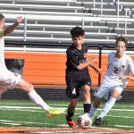 2019 Boys JV Soccer game vs Elyria 9/7/19