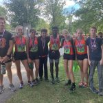 Girls Varsity Cross Country finishes 10th place at McDonough Invitational