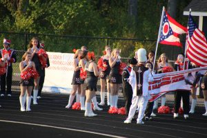 Band, Cheer and Fans North Ridgeville