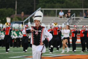 NOHS Band vs Amherst game