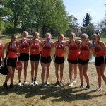 Middle School Girls Cross Country Team – 1st place at Patriot Invitational