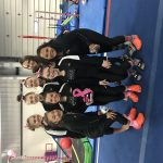 Girls Varsity Gymnastics finishes 3rd place at Flip for the Cure