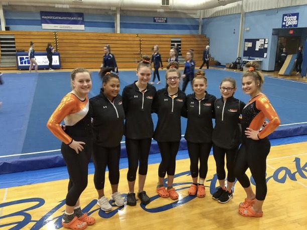 Gymnastics Senior Night – Saturday @ 6:30 PM