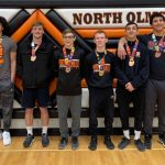 Eagles place 5th at SWC Wrestling Championships.