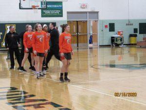 Girl's Basketball vs. Amherst