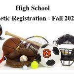High School Fall Sports 2020 – Registration
