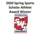 SWC Scholar Athlete Award Winners – Spring Sports 2020