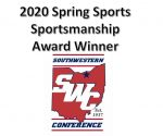Spring Sports – SWC Sportsmanship Award Winners