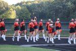 North Olmsted Eaglet Kickline and Flag Team