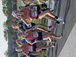 Girls Varsity Cross Country finishes 4th place at Bay Rocket Invitational