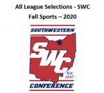 All-SWC Award Winners – Fall Sports 2020