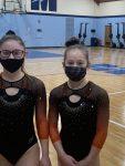 Girls Varsity Gymnastics finishes 3rd place at Magnificat, Medina, Copley