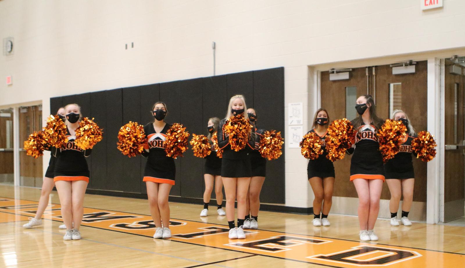 North Olmsted Cheerleaders