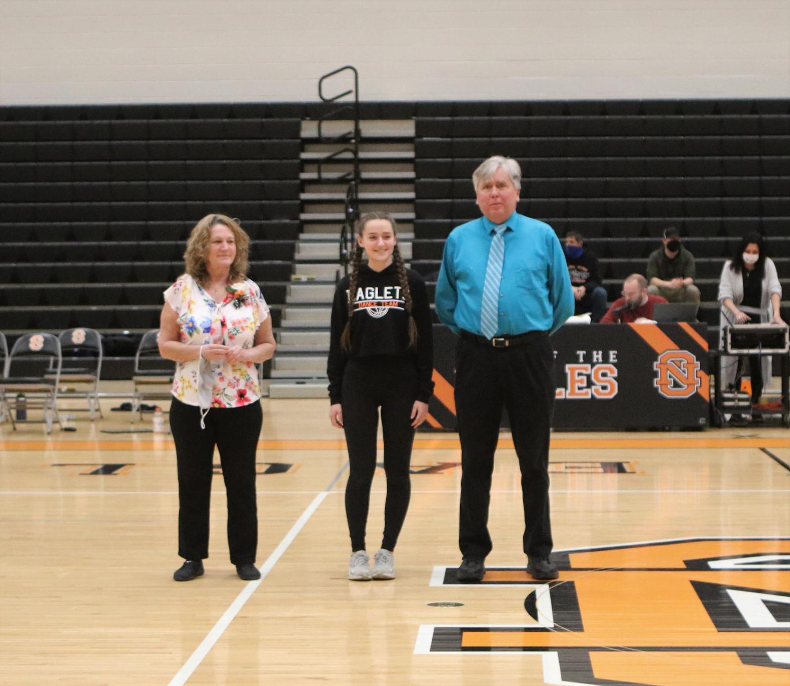 Eaglet Dance Team Seniors 2021