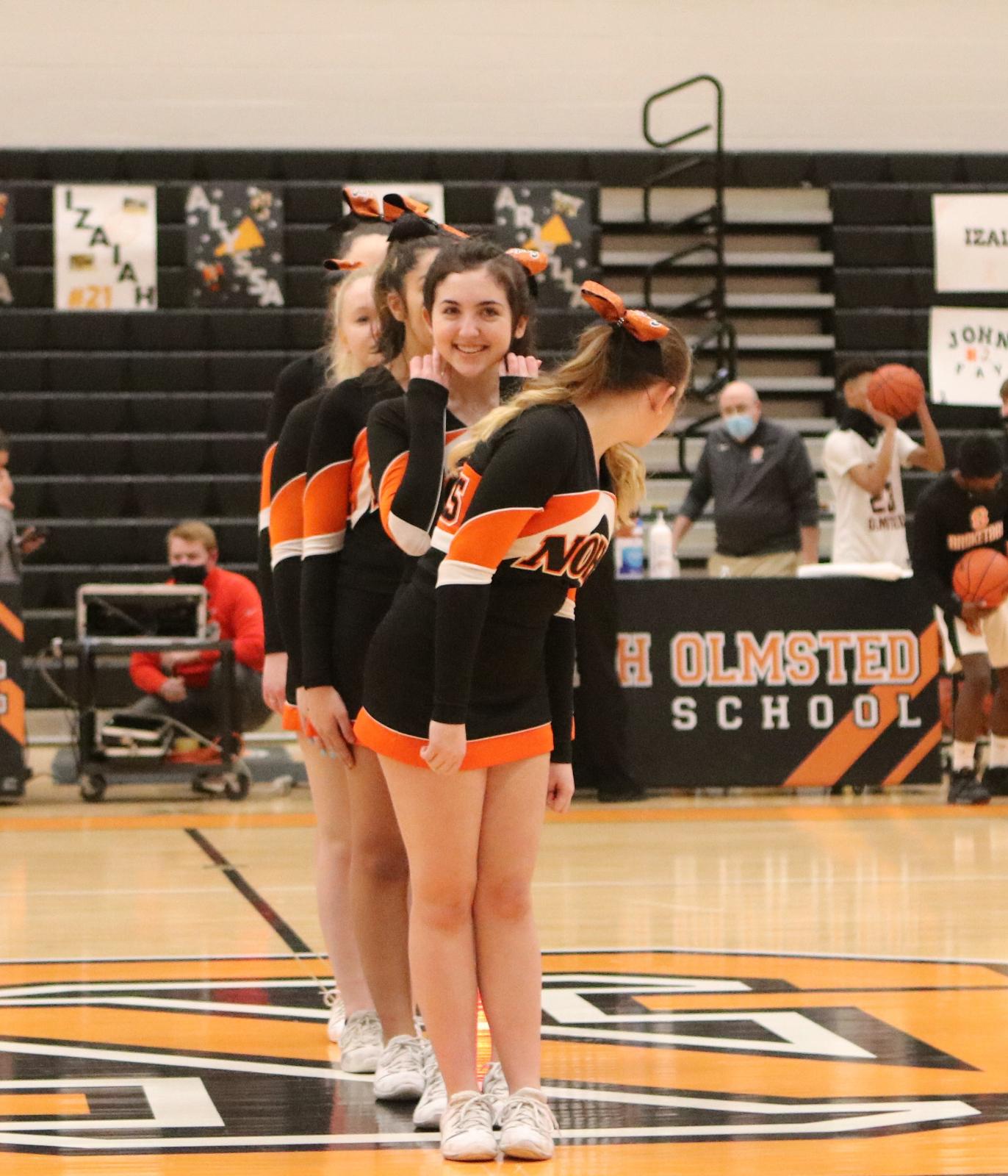 NOHS Cheerleaders