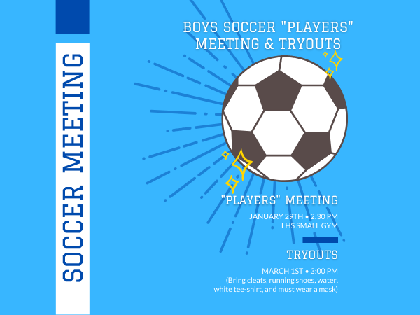 Boys Soccer Tryouts