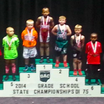 Congratulations to Kallan Baker, Newark's Youth Wrestling State Placer at OAC Grade School State!!!