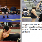 Congratulations to our 3 Senior Wrestlers!