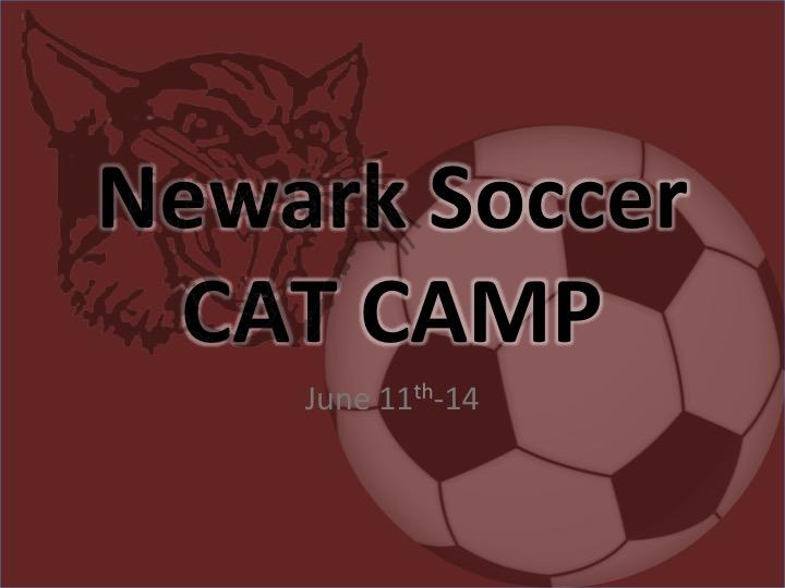 Soccer Cat Camp Registration