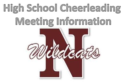 Newark High School Cheerleading Meeting Cancelled on 3/21/19