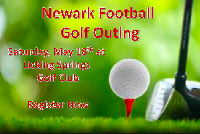 Newark Football Golf Outing, Saturday, May 18, 2019