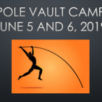 Pole Vault Camp Set for June 5 and 6, 2019