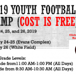 2019 Newark Football Youth Camp (Free Camp)