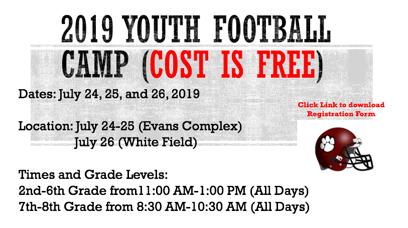 2019 Newark Football Youth Camp (Free Camp)