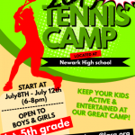 2019 Wildcat Tennis Camp (July 8-12)