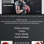 Free Football Camp hosted by Grant Russell and The Destroyers