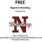 Free Beginner Wrestling Clinic!!!