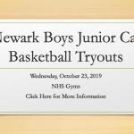 Newark Boys Junior Cat Tryouts