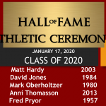 2020 Newark Athletic Hall of Fame Inductees and Ceremony