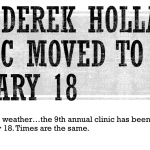 2020 Derek Holland Baseball Clinic Moved to January 18