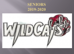 2020 Senior Athlete Recognition Show