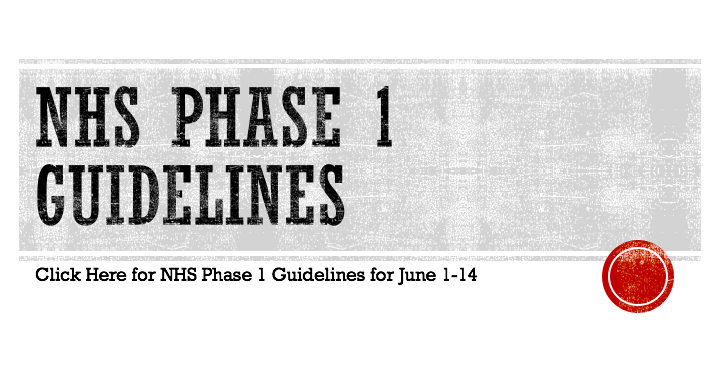Newark High School Phase One Participation Guidelines (June 1-14)