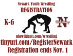 Newark Youth Wrestling Registration
