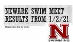 Newark Swim Meet Results from 1/2/21