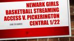 Girls Basketball v. Pickerington Central Streaming Info for 1/22