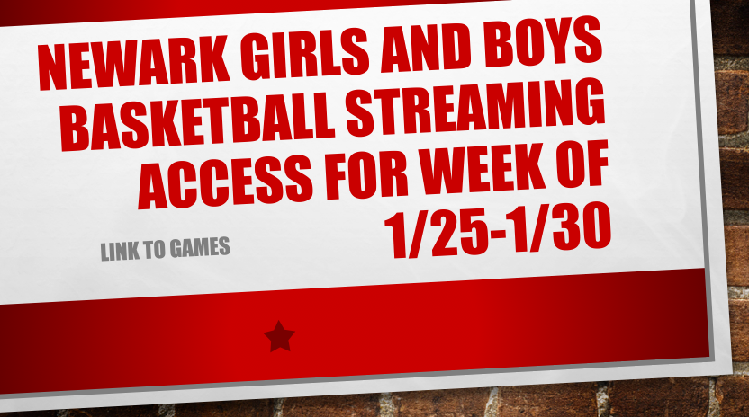 Livestream Links for Basketball Games the Week of 1/25-1/30