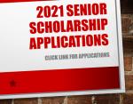 2021 Senior Scholarship Applications
