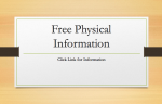 Licking Memorial Health Systems Free Physical Information