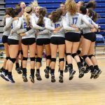 Olentangy Liberty High School Girls Varsity Volleyball beat Gahanna Lincoln High School 3-0